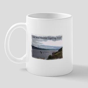 Loch Ness Monster Sighting Mug