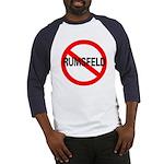 No Rumsfeld Baseball Jersey