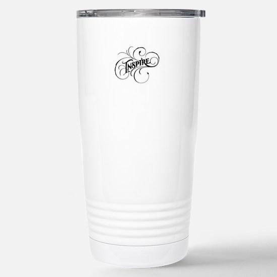 Inspire Stainless Steel Travel Mug