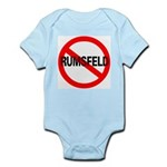 No Rumsfeld Infant Creeper