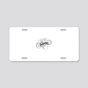 Inspire Aluminum License Plate