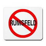 No Rumsfeld Mousepad