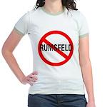 No Rumsfeld Jr. Ringer T-shirt