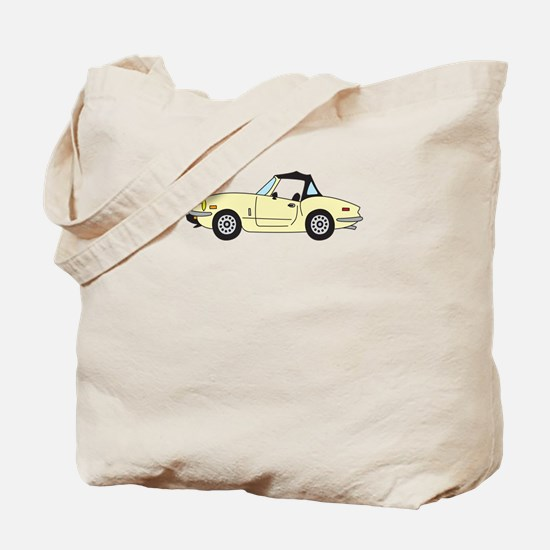 Light Yellow Spitfire Cartoon Tote Bag