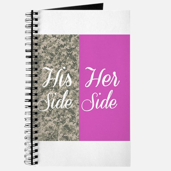 Camo His Side/ pink Her Side Journal