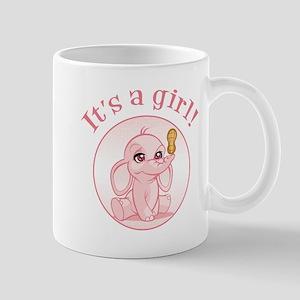 Baby girl (elephant) Mugs