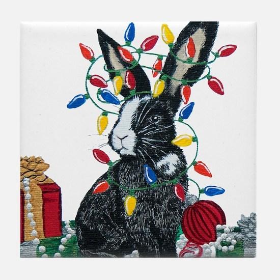 Wired for Celebration! Tile Coaster