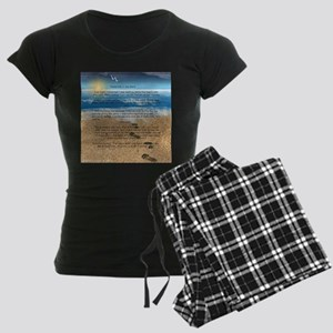 Footprints in the Sand Pajamas