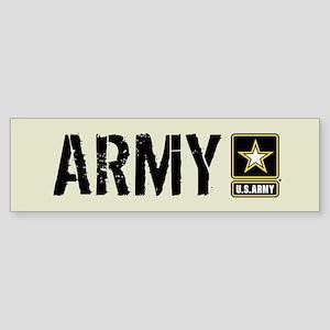 U.S. Army: Army (Sand) Sticker (Bumper)