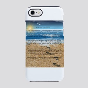 Footprints in the Sand iPhone 8/7 Tough Case