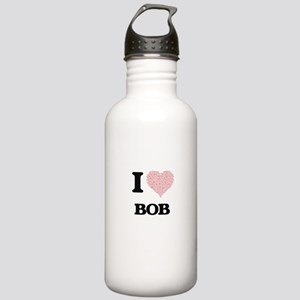 I Love Bob (Heart Made Stainless Water Bottle 1.0L