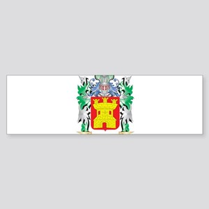 Gonzalez Coat of Arms (Family Crest Bumper Sticker