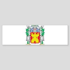 Gonzalez Coat of Arms (Family Crest Bumper Sticker