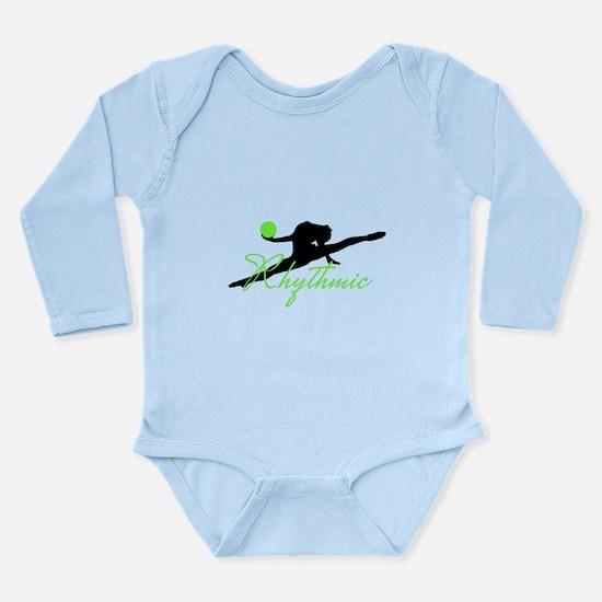 Green Rhythmic Gymnast Body Suit