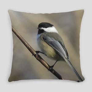 Chickadee Bird Everyday Pillow