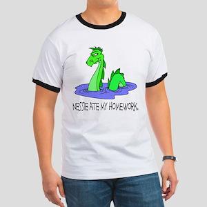 Nessie Ate Homework Ringer T