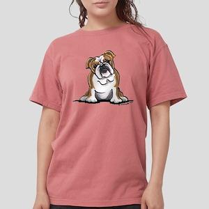 Brown White Bulldog T-Shirt