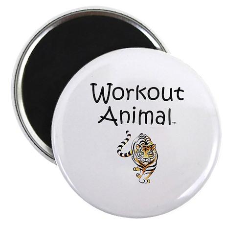 Workout Animal Magnet