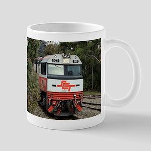SCT train locomotive engine, Australia Mugs