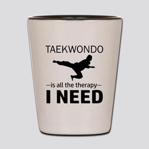Taekwondo gift items Shot Glass