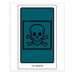 Death Tarot Small Poster
