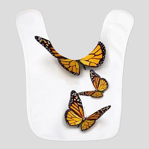 Monarch Butterlies Bib