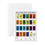 The Major Arcana Greeting Card