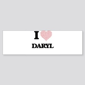 I Love Daryl (Heart Made from Love Bumper Sticker