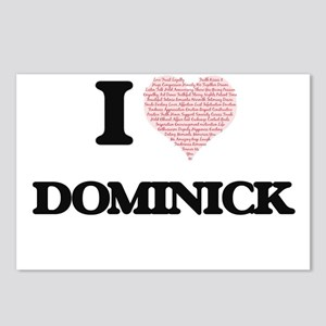 I Love Dominick (Heart Ma Postcards (Package of 8)