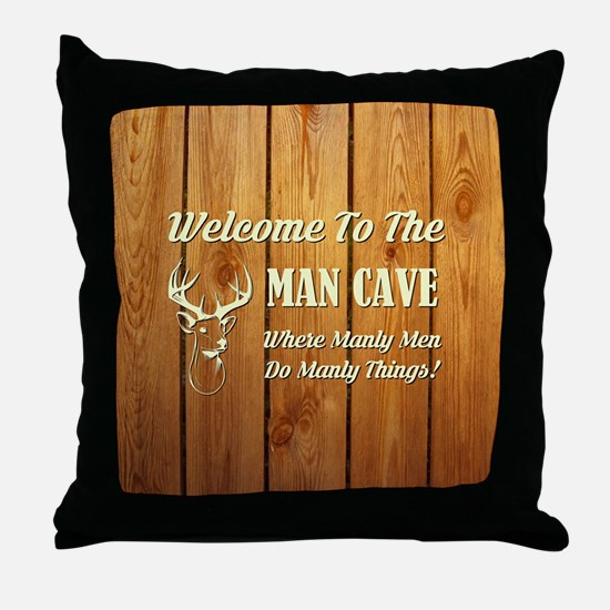 WELCOME TO THE... Throw Pillow