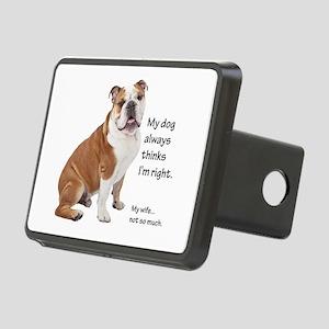Bulldog v Wife Hitch Cover