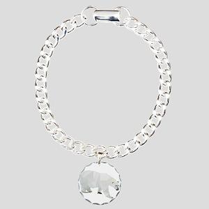 Polar Bear Charm Bracelet, One Charm