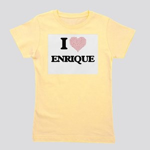 I Love Enrique (Heart Made from Love wo Girl's Tee