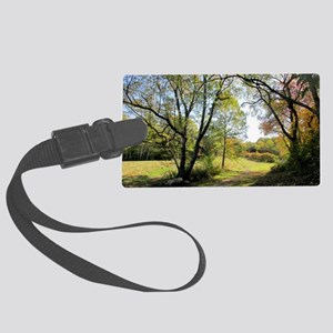 Out of the Woods Large Luggage Tag