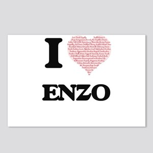 I Love Enzo (Heart Made f Postcards (Package of 8)