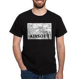 Airsoft Mens Classic Dark T-Shirts