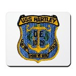 USS HARTLEY Mousepad