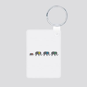 Elephant chain Keychains