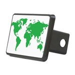 World Map Hitch Cover