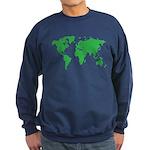 World Map Sweatshirt