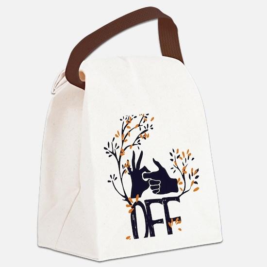 Cute Cursing humor Canvas Lunch Bag
