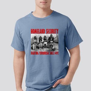 Homeland Security 1492 Black T-Shirt