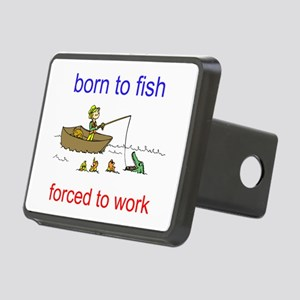 BORN TO FISH Hitch Cover