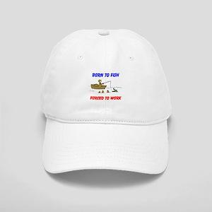 BORN TO FISH Baseball Cap