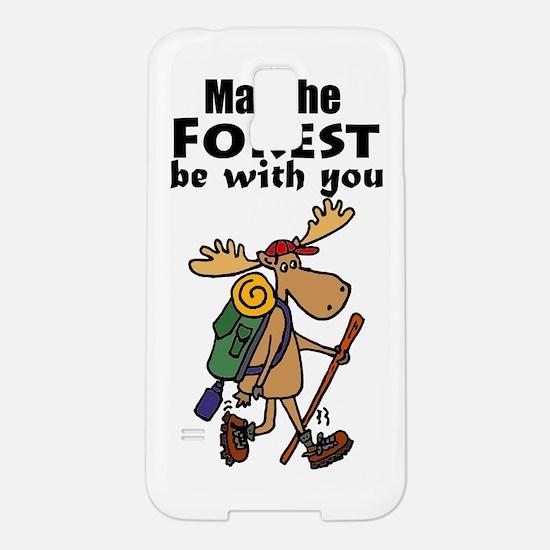 Cute Moose Hiking Samsung Galaxy S5 Case