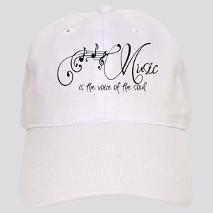 Music is the voice of the soul Cap