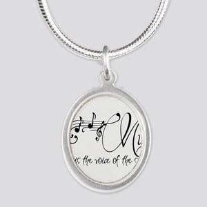 Music is the voice of the soul Necklaces