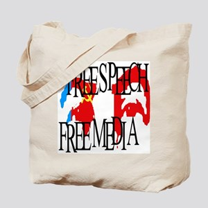 RUSSIA FREE SPEECH FREE MEDIA Tote Bag