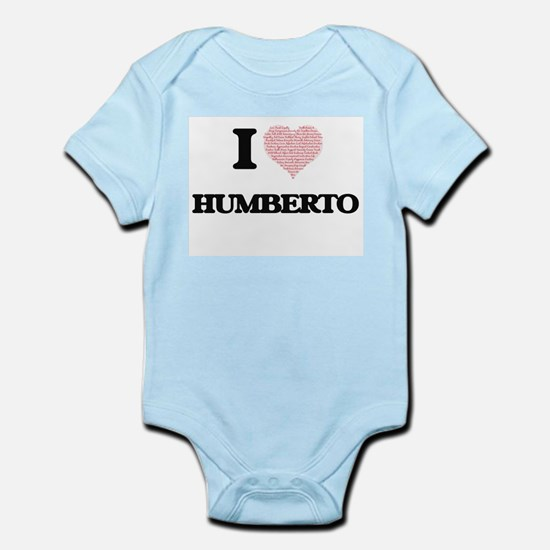 I Love Humberto (Heart Made from Love wo Body Suit
