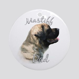 Mastiff(fluff)Dad2 Ornament (Round)